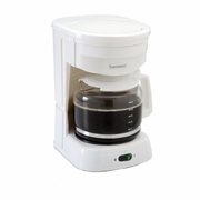 Continental Electric 12 Cup Coffee Maker, White