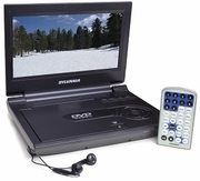 "SYLVANIA - SDVD9000 9"" RB Portable DVD"