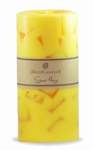 3 x 6 Sweet Mango Pillar Candle