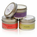 """4 Oz. Irresistible - Fresh Sea Water & Musk - Travel Tin Candle<br><font name=""""Arial"""" color=""""#C9CFC9""""size=2>"""