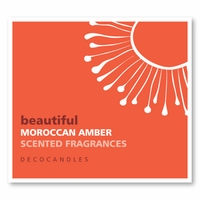 """Beautiful<br><font name=""""Arial"""" color=""""#C9CFC9""""size=2>moroccan amber"""