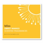 "Bliss<br><font name=""Arial"" color=""#C9CFC9""size=2>sweet mango"