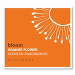 "Bloom<br><font name=""Arial"" color=""#C9CFC9""size=2>orange flower"