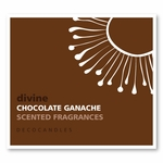 "Divine<br><font name=""Arial"" color=""#C9CFC9""size=2>chocolate ganache"