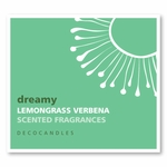 "Dreamy<br><font name=""Arial"" color=""#C9CFC9""size=2>lemongrass verbena"