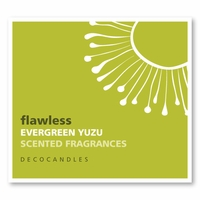 """Flawless<br><font name=""""Arial"""" color=""""#C9CFC9""""size=2>evergreen & yuzu"""