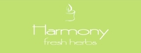 """Harmony<br><font name=""""Arial"""" color=""""#C9CFC9""""size=2>fresh herbs"""