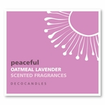 "Peaceful <br><font name=""Arial"" color=""#C9CFC9""size=2>oatmeal lavender"