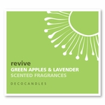 "Revive <br><font name=""Arial"" color=""#C9CFC9""size=2>green apples & lavender"