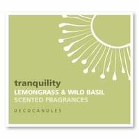 "Tranquility <br><font name=""Arial""color=""#C9CFC9""size=2>lemongrass basil"