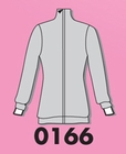 Fitted Tunic Zip Jacket 0166