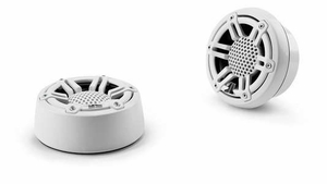 """1"""" Component Tweeters White Sport"""