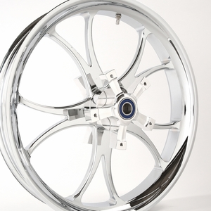 3D Chrome Lawless Wheel for 14-18 Touring