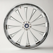 3D Cut Chrome Legend Wheels
