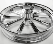 3D Cut Chrome Poker Wheels