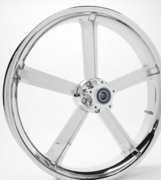 3D Cut Chrome Testament Wheels
