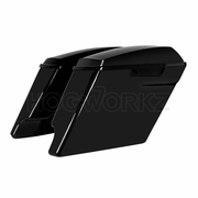 """4"""" Stretched Saddlebags for Harley '14-'17 Touring - Color Matched"""