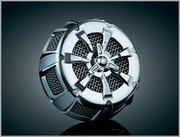 Alley Cat Air Cleaner in Chrome