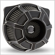 Arlen Ness Beveled Inverted Air Cleaner in Black