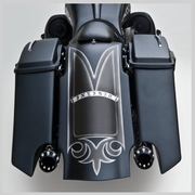 Arlen Ness Down-N-Out Rear Fender