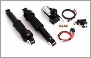 ARNOTT 12 in. Black Bilstein Rear Air Suspension System
