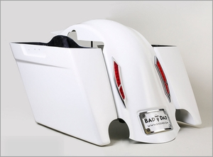 Bagger Overlay Fender with Surface Lights & Bag Kit