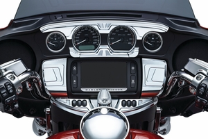 Bahn™ Ignition Switch Cover for Touring & Trike - Chrome