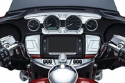 Bahn� Ignition Switch Cover for Touring & Trike - Chrome