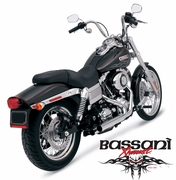 Bassani PRO-STREET Straight Cut For Dyna