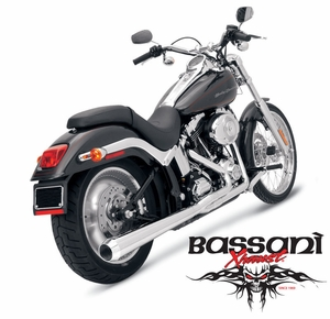 Bassani Road Rage For Softail
