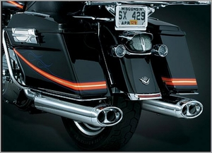 Beast™ Oval Mufflers with Streamliner Tips