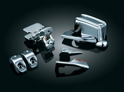 Chrome Brake & Clutch Control Dress-Up Kit for '08-'13 Touring