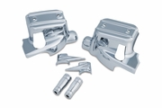 Chrome Brake & Clutch Control Dress-Up Kit for '14-Current Touring