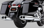 COBRA Tri-Oval Slip-on Mufflers