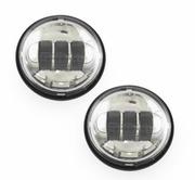 Cyron Passing Lamps- Chrome 4 1/2in