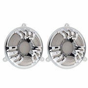 Deep Cut Forged Billet Speaker Grill - Chrome