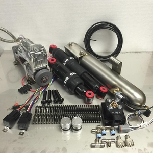 Dirty Air EL GRANDE Front & Rear Complete Fast-Up Air Tank Kit