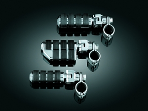 "Dually ISO®-Pegs with Mounts & 1-1/4"" Magnum Quick Clamps - Chrome"
