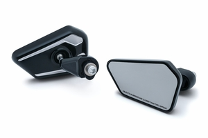 Fairing Mounted Bahn Mirrors- Black