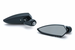 Fairing Mounted Scythe Mirrors- Gloss Black