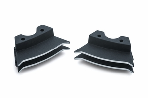 Finned Spark Plug Covers for Milwaukee-Eight® - Wrinkle Black