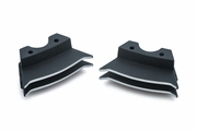 Finned Spark Plug Covers for Milwaukee-Eight� - Wrinkle Black