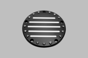 Fluted Pro Horn Cover in Black
