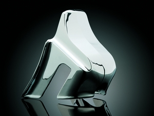 Front Motor Mount Cover - Chrome
