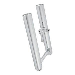 Hot Legs For Softail And Dyna Models - Smooth - Chrome