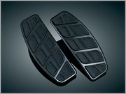 Kinetic Traditional D-Shaped Floorboard Inserts - Black