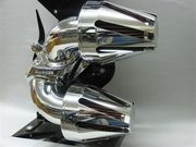 Mini Power Flow Chrome with Tapered Slots