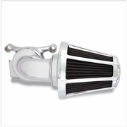 Monster Sucker Air Cleaner Kit w/Beveled Cover - Chrome
