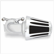 Monster Sucker Air Cleaner Kit w/Deep Cut Cover - Chrome