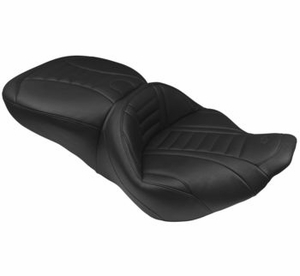 Deluxe Touring Seats - Black Short Tip